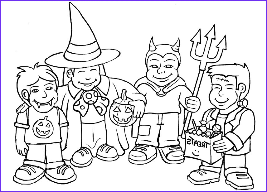 Halloween Coloring Pages for toddlers Beautiful Photos Halloween Colouring Pages for Kids Free Printables