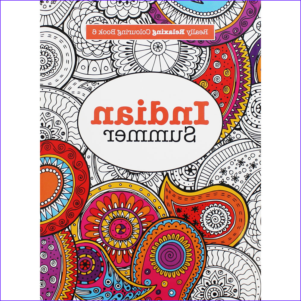Indian Coloring Book Best Of Collection Indian Summer Colouring Book by Elizabeth James