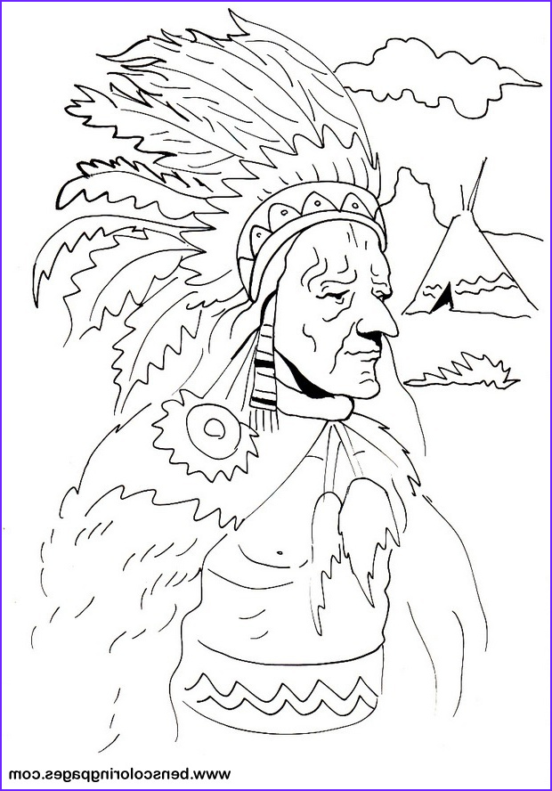 Indian free coloring book
