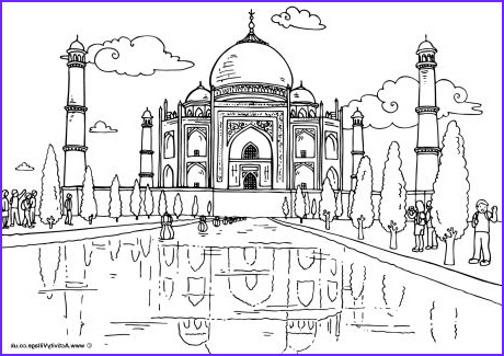 Indian Coloring Book Inspirational Photos Around the World Colouring Pages