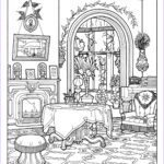Interior Design Coloring Book New Photography Victorian Interior Style Architecture Adult Coloring Pages
