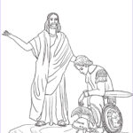 Jesus Healing Coloring Page Awesome Photos Jesus Heals The Centurion S Servant Coloring Page