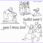 Jesus Healing Coloring Page New Photos Bible Jesus Heals Blind On Pinterest