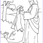 Jesus Heals Coloring Pages Awesome Stock Primary New Testament August Sharing Time
