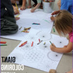 Kids Coloring Table Beautiful Images Giant Coloring Sheets Free Printables For Summer Fun