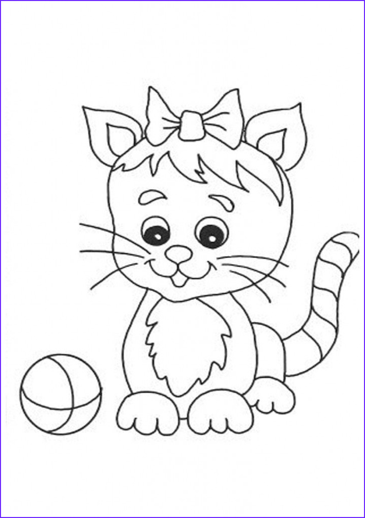 Kitty Cat Coloring Pages Best Of Image Free Printable Cat Coloring Pages for Kids