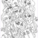 Little Pony Coloring Beautiful Photos My Little Pony Equestria Girls Coloring Pages