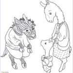 Llama Coloring Pages New Collection Adult Llama Llama Red Pajama Coloring Page Printable Pages
