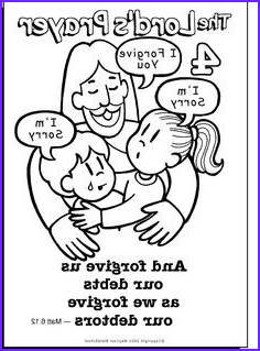 Lords Prayer Coloring Page Beautiful Gallery 26 Best Images About Jesus Prayed On Pinterest