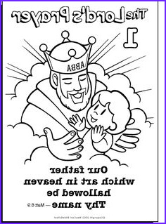 Lords Prayer Coloring Page New Photos 1000 Images About Lord S Prayer On Pinterest