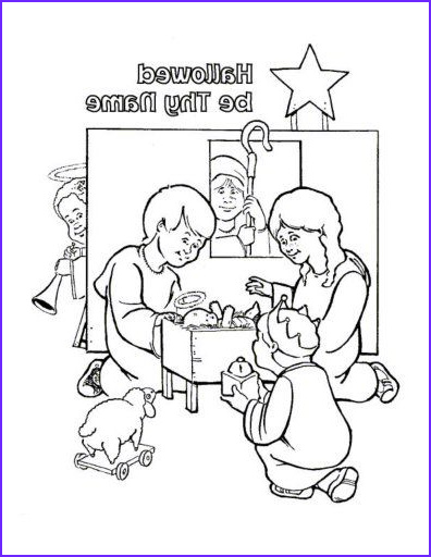 Lords Prayer Coloring Page Unique Photos Free Lord S Prayer Coloring Pages for Children and Parents