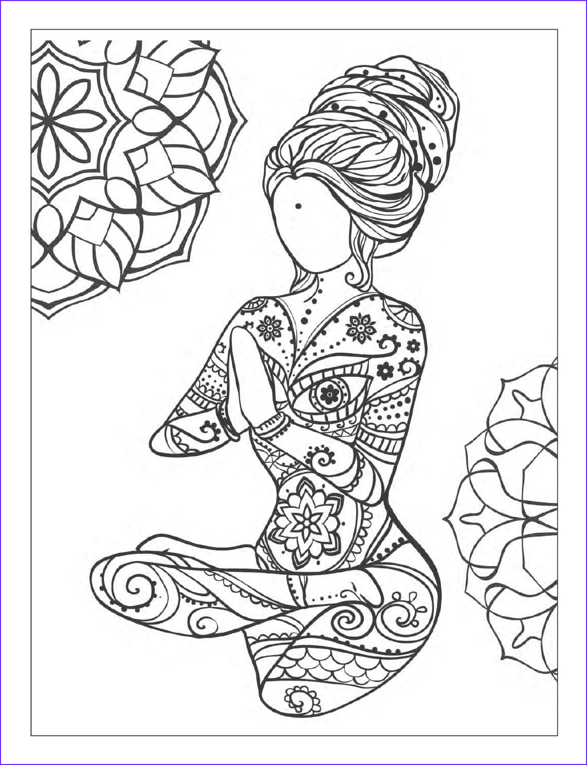 Mandala Adult Coloring Book Awesome Photos Yoga and Meditation Coloring Book for Adults with Yoga