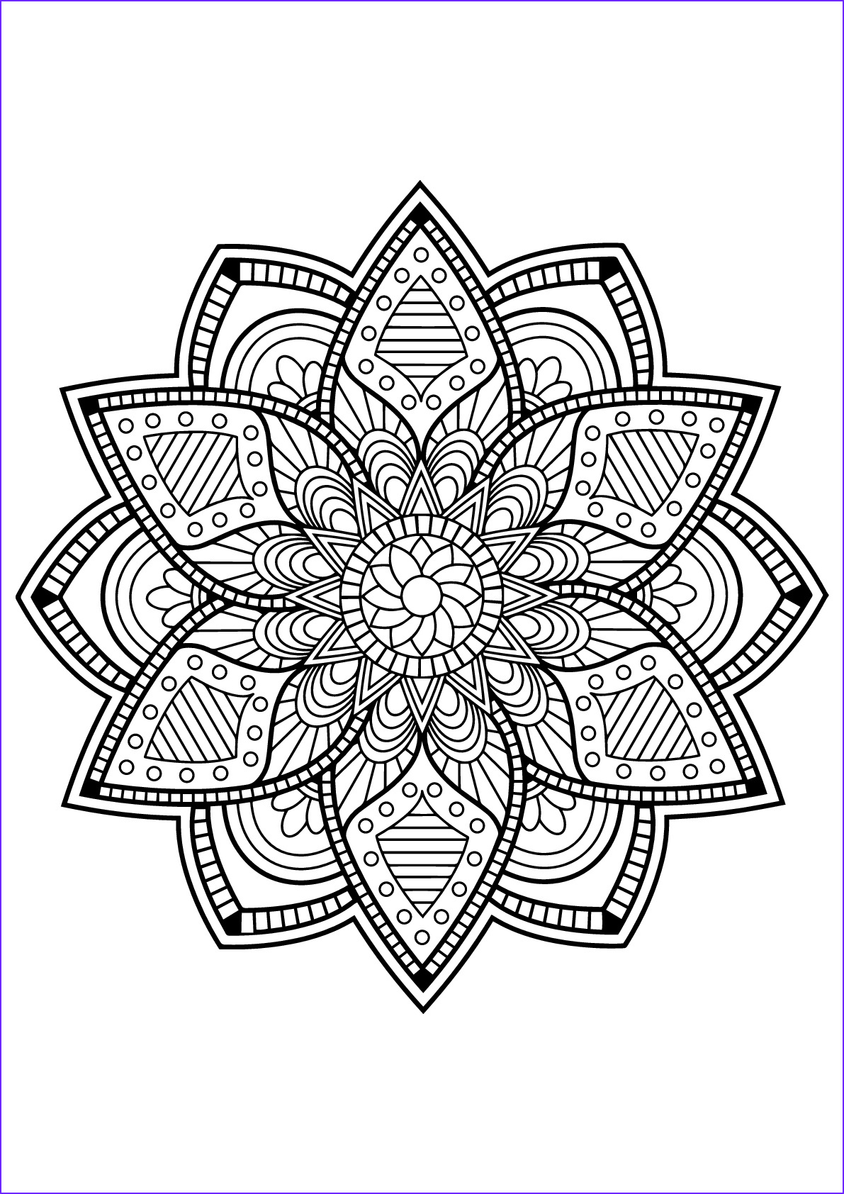 Mandala Adult Coloring Books Luxury Gallery Mandalas to Color for Children Mandalas Kids Coloring Pages