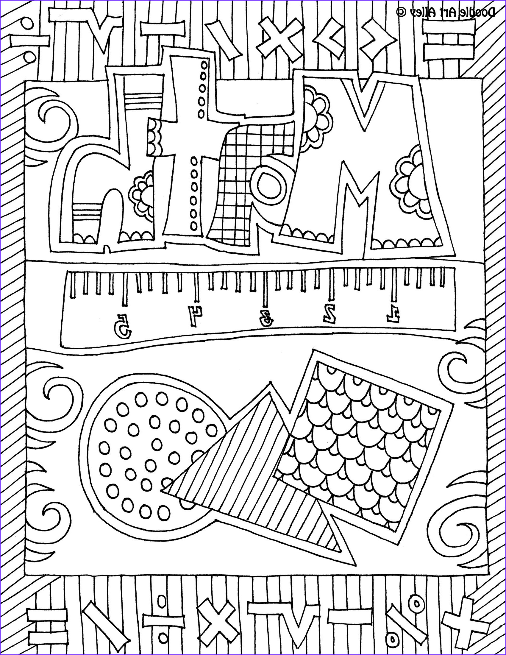 Math Coloring Book Beautiful Image Math Ideas for Bts Back to the Archive Freebie