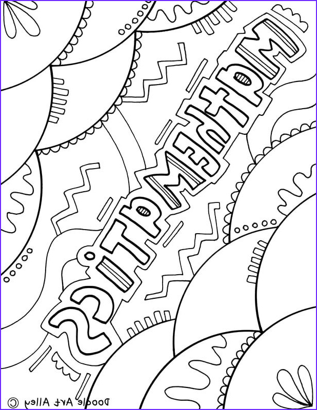 Math Coloring Book Beautiful Photos Picture Coloring Sheets for School