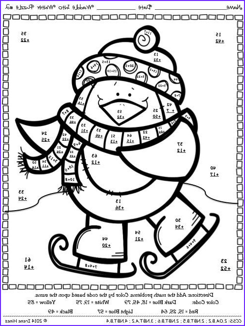 Math Coloring Sheets 2nd Grade Beautiful Photography Addition Color by Number Math Worksheets