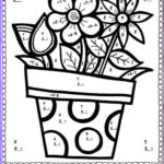 Math Coloring Worksheets 5th Grade Beautiful Image Subtraction Spring Into Subtraction Color By The Code