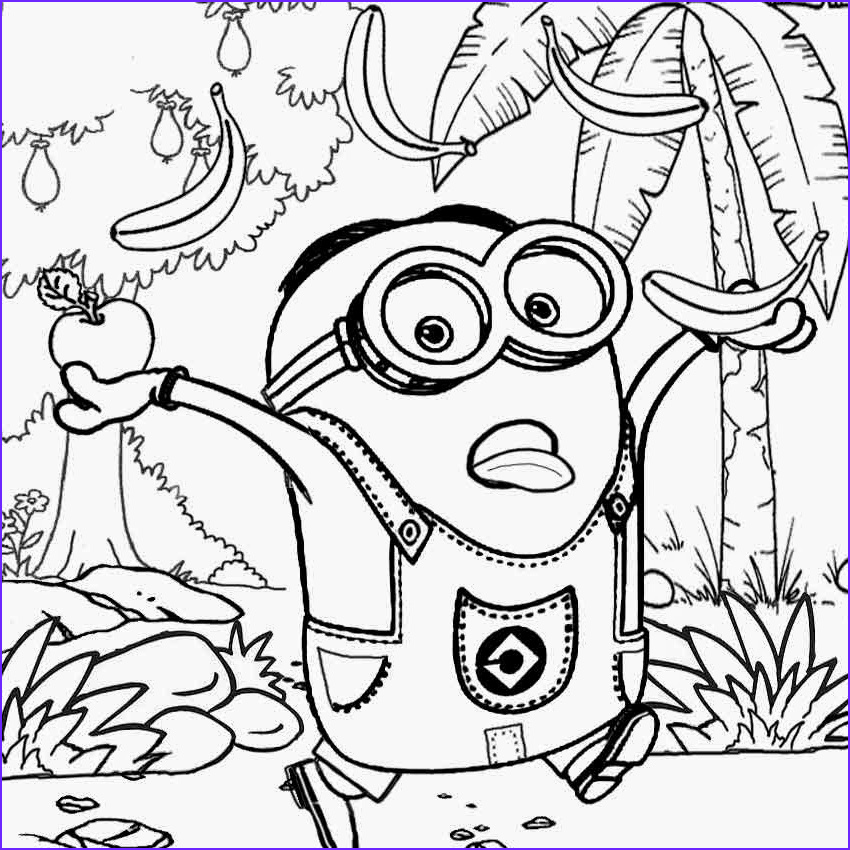 Minions Coloring Sheet New Stock Free Coloring Pages Printable to Color Kids