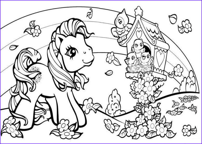 Mlp Coloring Books New Photography My Little Pony Coloring Page Coloring Home