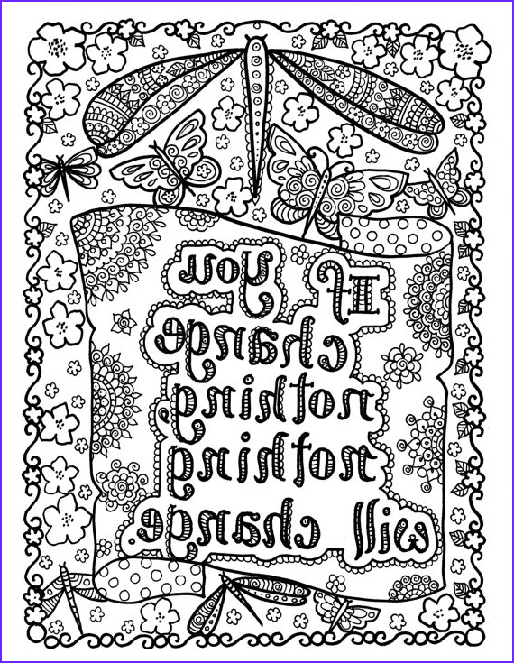 Motivational Coloring Pages New Image 5 Pages Instant Download Be Brave Coloring Book
