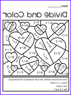Multiplication Coloring Worksheets 4th Grade Awesome Photos 13 Best Of Multiplication and Division Coloring