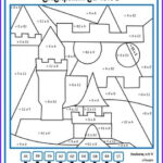 Multiplication Coloring Worksheets 4th Grade New Photos Color By Number Fourth Grade Color By Multiplication And