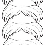 Mustache Coloring Pages Elegant Stock The Lorax Printables