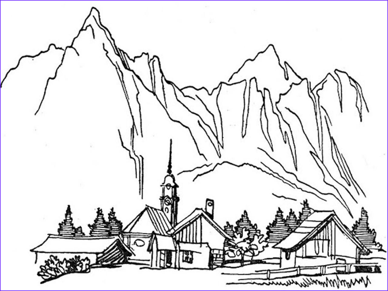 Nature Coloring Pages New Photos Coloring Pages for Adults Nature Coloring Home