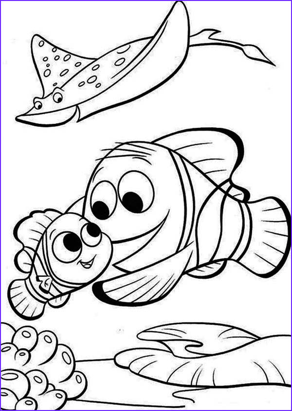 Nemo Coloring Pages Cool Collection Free Coloring Pages Finding Nemo Coloring Home