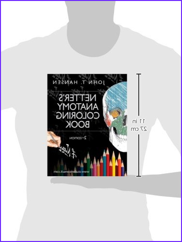 Netters Anatomy Coloring Book Best Of Photos Netter S Anatomy Coloring Book with Student Consult