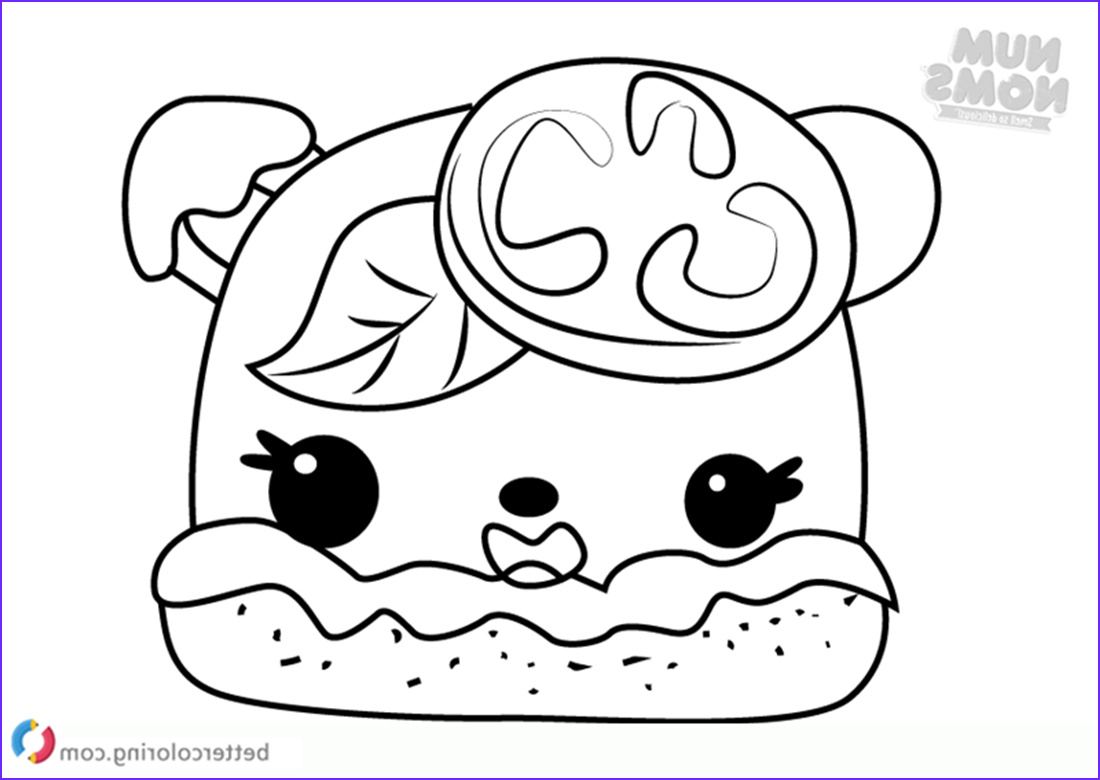 Num Noms Coloring Pages Beautiful Collection Margo Rita Num Noms Coloring Pages Free Printable