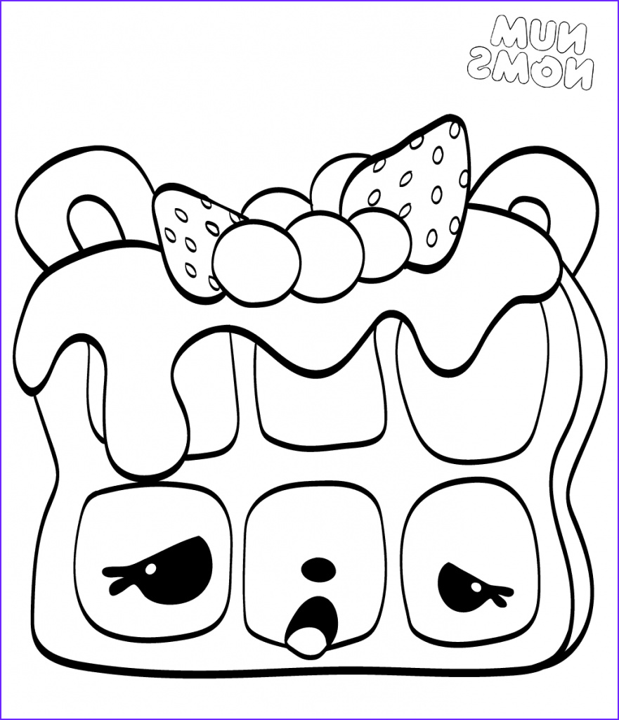 Num Noms Coloring Pages Beautiful Gallery 20 Free Printable Num Noms Coloring Pages