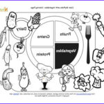 Nutrition Coloring Pages New Gallery Printable Myplate Ve Ables Coloring Sheet