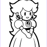 Paper Coloring Cool Photos Paper Princess Peach Coloring Page