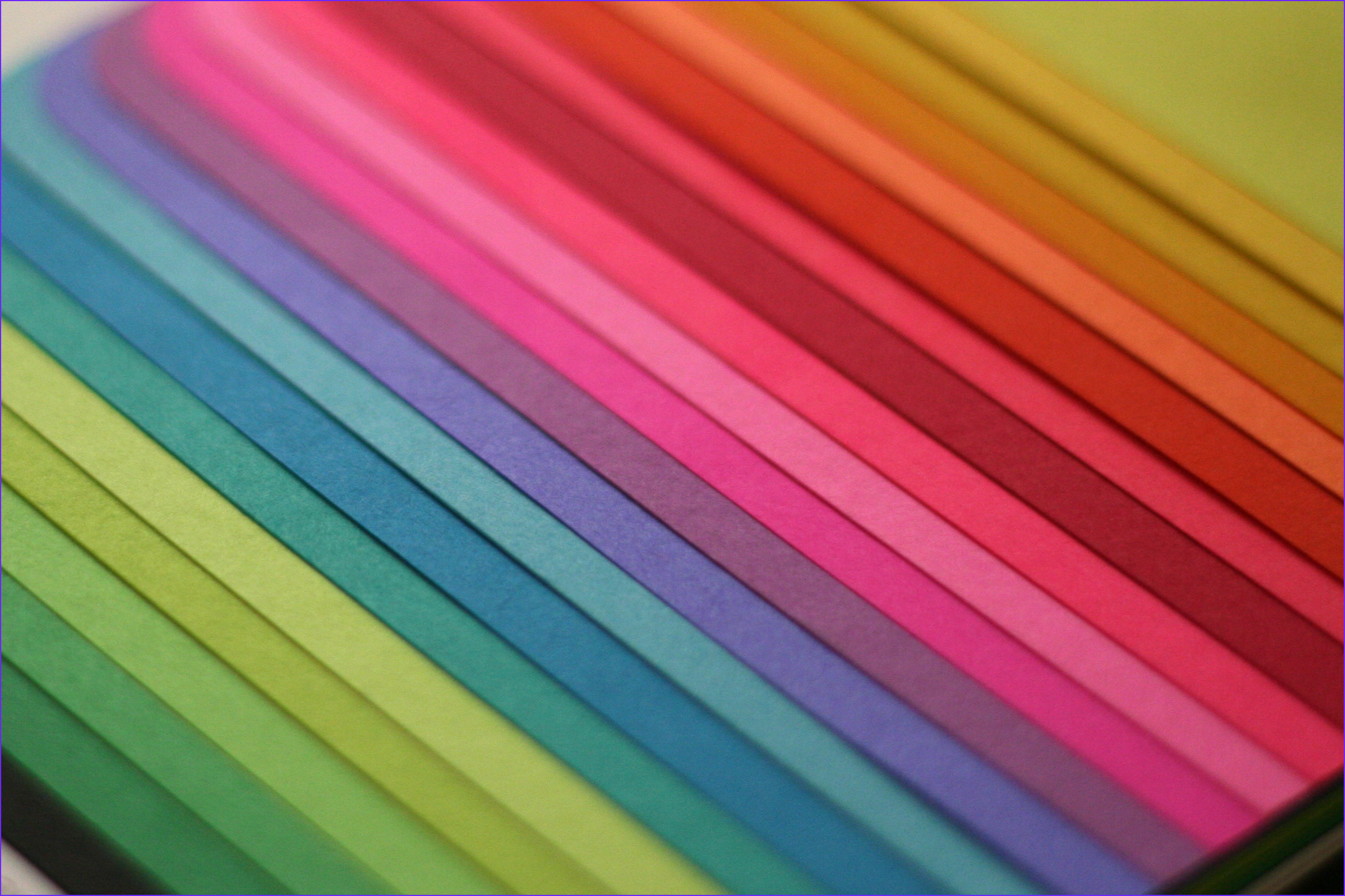 colored paper sheets