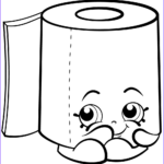 Paper Coloring Luxury Photos Sweat Leafy Roll Of Toilet Paper Shopkin Coloring Page