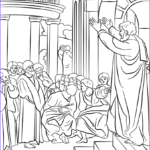 Paul and Silas Coloring Page Cool Photography Paul Preaching In athens Coloring Page