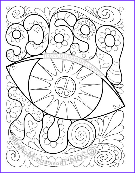 Peace Coloring Pages Beautiful Photography Peace and Love Coloring Book by Thaneeya Mcardle