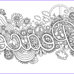 Peace Coloring Pages New Stock Peace Adult Coloring Page