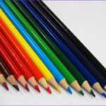 Pencil Coloring Best Of Collection Edupic Of Multiple Colors