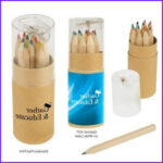 Personalized Coloring Pencils Cool Image 12 Piece Personalized Colored Pencils