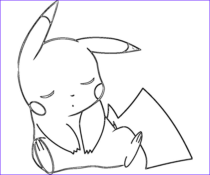 Pikachu Coloring Pages Awesome Collection Pokemon Coloring Pages Pikachu Coloring Home