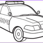 Police Car Coloring Pages Beautiful Collection Police Car Colouring Page