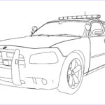 Police Car Coloring Pages Beautiful Photos New Police Car Dodge Charger Coloring Pages Printable