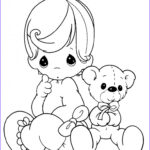 Precious Moments Coloring Pages Elegant Photos Free Printable Baby Coloring Pages for Kids