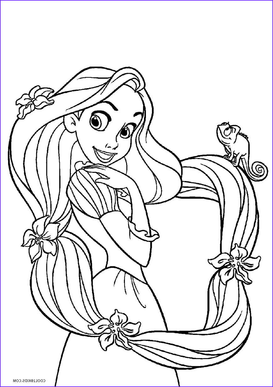 Print Coloring Pages Beautiful Gallery Free Printable Tangled Coloring Pages for Kids