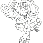 Print Coloring Pages Elegant Gallery Monster High Coloring Pages