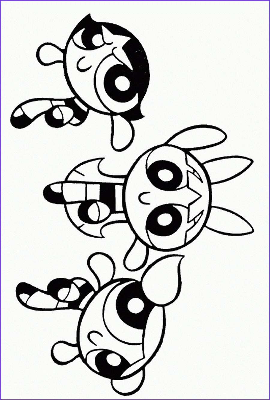 Print Coloring Pages Inspirational Photos Free Printable Powerpuff Girls Coloring Pages for Kids