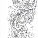 Printable Adult Coloring Elegant Image 20 Free Adult Colouring Pages The Organised Housewife