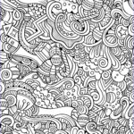 Printable Christmas Coloring Pages Cool Images 10 Free Printable Holiday Adult Coloring Pages